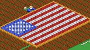 Farmville Screenshot American Flag