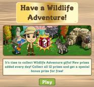 Wildlife Adventure Countdown Notification