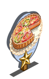 Vegetable Tart 1 Star Mastery Sign-icon