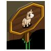 Cream Mini Foal Mastery Sign-icon