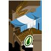 Organic Wheat Stall-icon