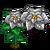 Silver Poinsettia-icon
