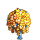 Yellow Sequin Tree-icon