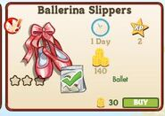 Ballerinaslippers
