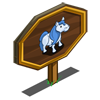 Light Blue Pony Mastery Sign-icon