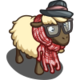 Snazzy Hipster Sheep-icon