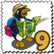Lost Penguin Stamp-icon