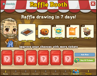 Raffle Booth Draw April 30 2012