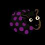 Dark Brown Bluish Violet-Dotted Ewe-icon