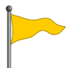 Yellow Flag-icon