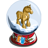 Horse Snow Globe-icon