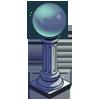 Blue Gazing Ball-icon