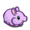 Purple Puffy Bunny-icon