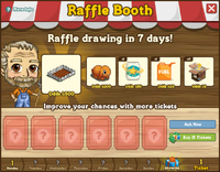 Raffle Booth Draw April 9 2012