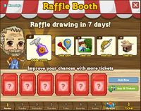 Raffle Booth Draw May 14 2012