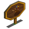 Baby Turkey Mastery Sign-icon