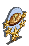 Bush Bread 5 Star Mastery Sign-icon