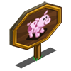 Heart Pig Mastery Sign-icon