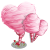Heart Cotton Candy Tree-icon