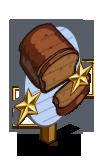 Pumpkin Bread 2 Star Mastery Sign-icon
