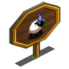 Birthday Sheep Mastery Sign-icon