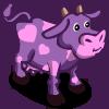 Purple Valentine Cow-icon