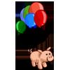 Birthday Piggy-icon