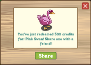 Pink Swan-REDEEM