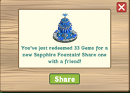 Sapphire Fountain Redeemed