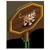 Siberian Tiger Cub Mastery Sign-icon
