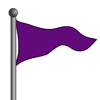 Purple Flag-icon