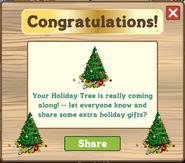 Holiday Tree 2011 Progress 3