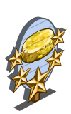 Sweet Corn Cakes 5 Star Mastery Sign-icon