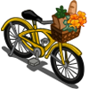 Bike with Basket-icon