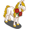 Poinsettia Horse-icon