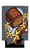 Pumpkin Bread 5 Star Mastery Sign-icon