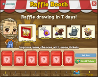 Raffle Booth Draw March 26 2012