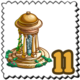 Renaissance Gazebo Stamp-icon