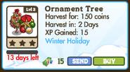 Ornament Tree Market Info 2011
