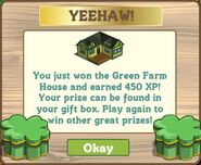 Green Farm House Notification