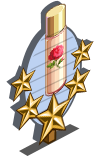 Rose Petal Water 5 Star Mastery Sign-icon