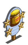 Vegespread 4 Star Mastery Sign-icon
