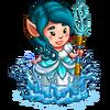 Aqua Goddess Gnomette-icon