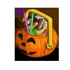 Ghoulishly growing Halloween Baskey