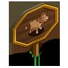 Gelbvieh Cow Mastery Sign-icon