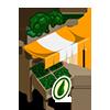 Organic Broccoli Stall-icon