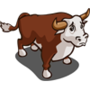 Found Bull