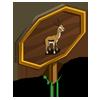 Gazelle Mastery Sign-icon