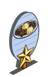Elfin Chocolate 1 Star Mastery Sign-icon