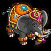 Gem Encrusted Elephant-icon